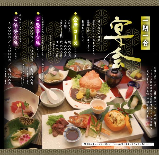 魚心 うまか亭 宴会 南矢野目 寿司 会席 法要 福島市